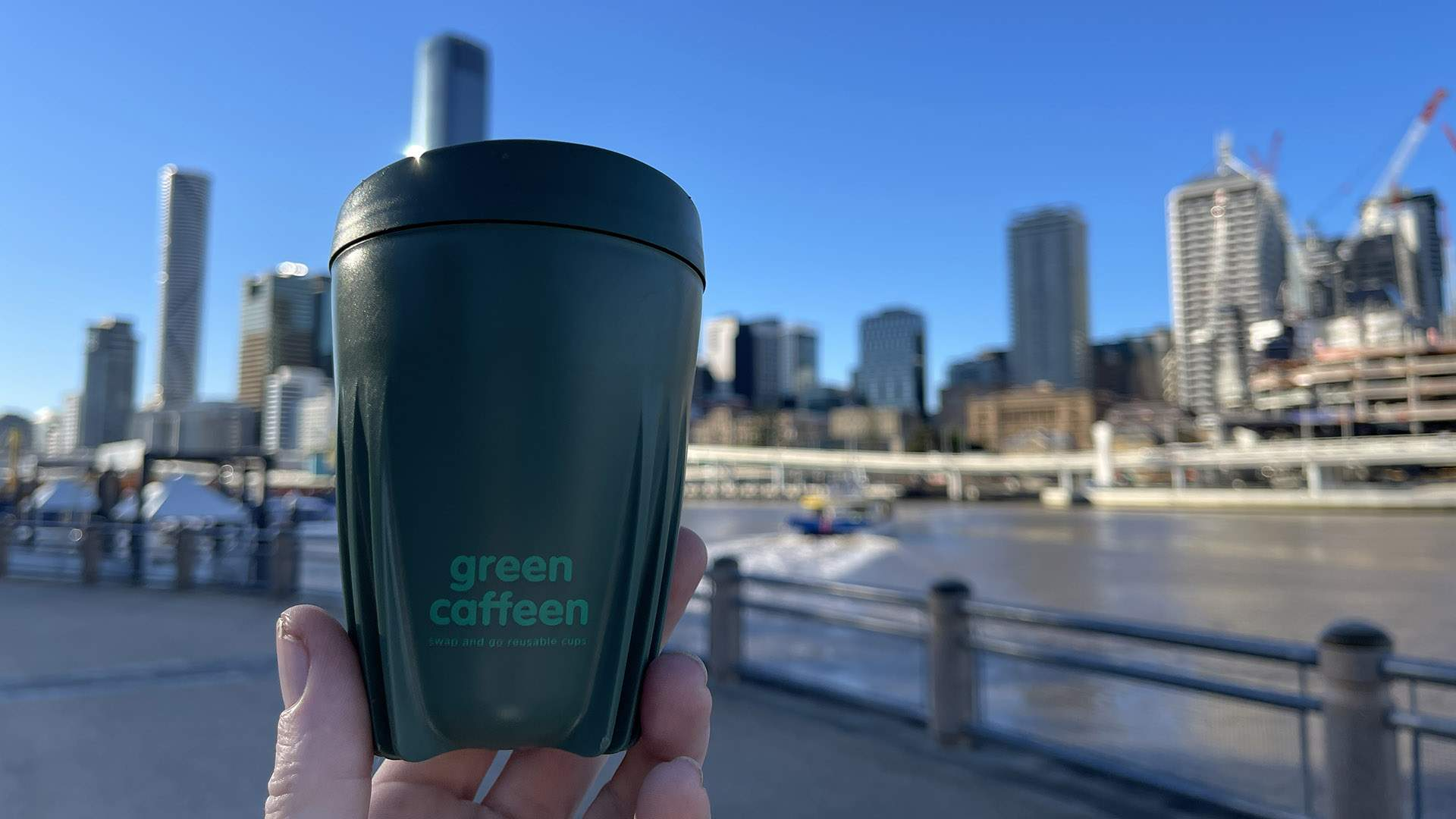 Green Caffeen Has Launched Its Swap-and-Go Reusable Cup-Sharing Network in West End