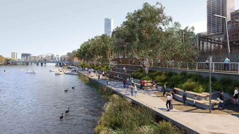 The Yarra's Northbank Precinct Could Be Getting a $300 Million Makeover