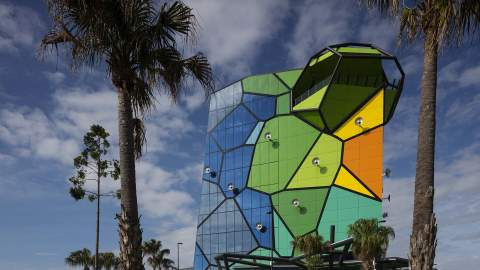 The Gold Coast Is Now Home to a Colourful New Six-Level Art Gallery with a Rooftop Bar