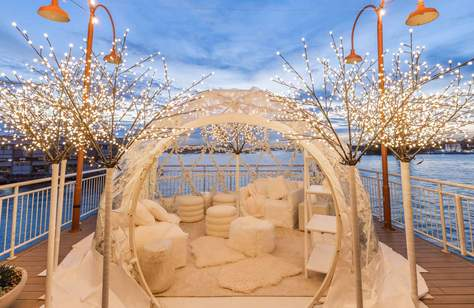 Igloos on the Pier 2021