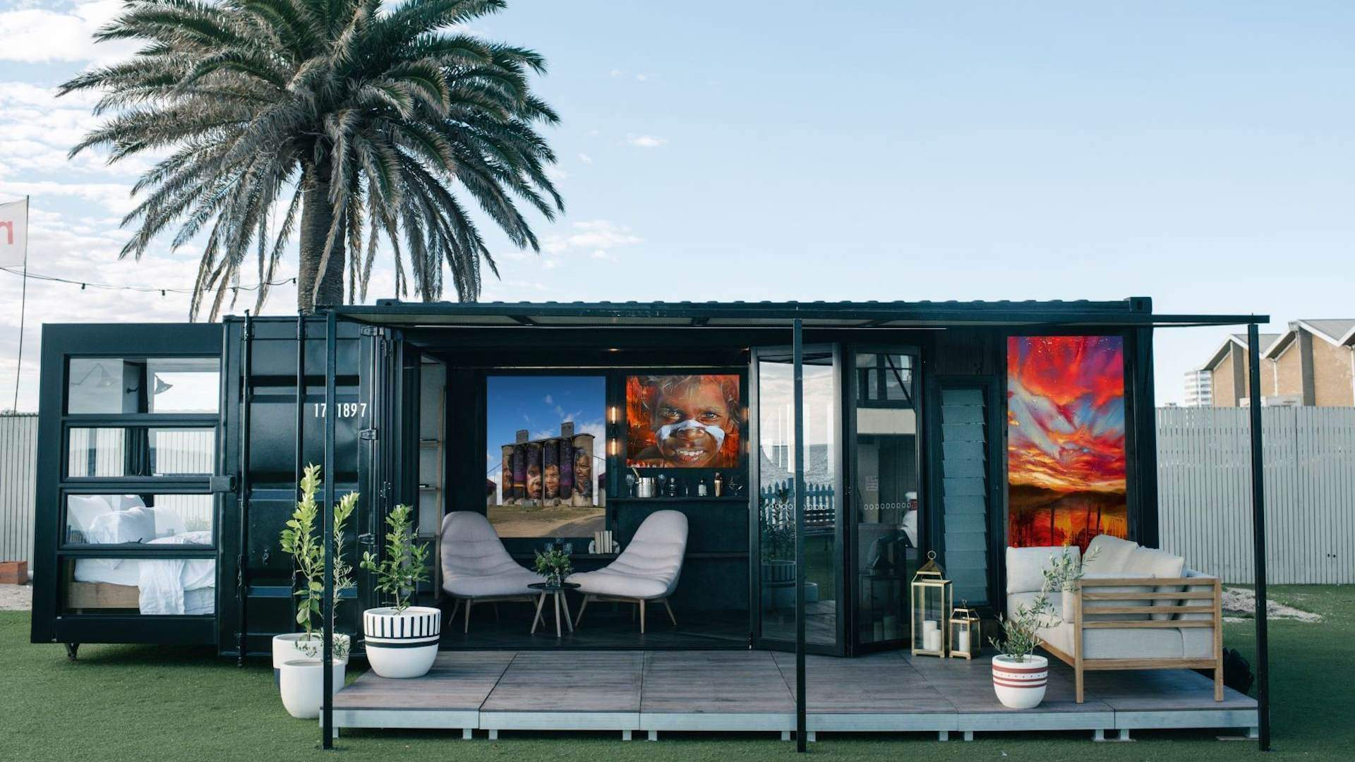 Victoria's Silo Art Trail Will Boast Two Street Art-Themed, Shipping Container Hotels