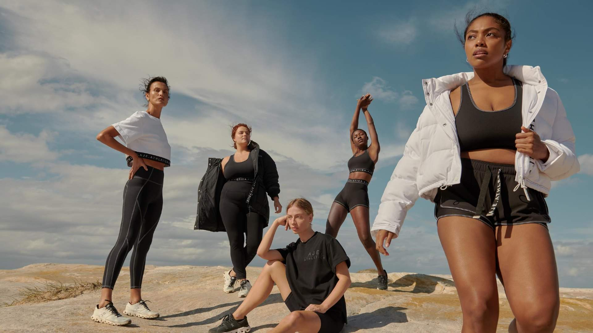 Australian Fashion House Aje Has Launched Sustainable Activewear Brand Aje Atheltica