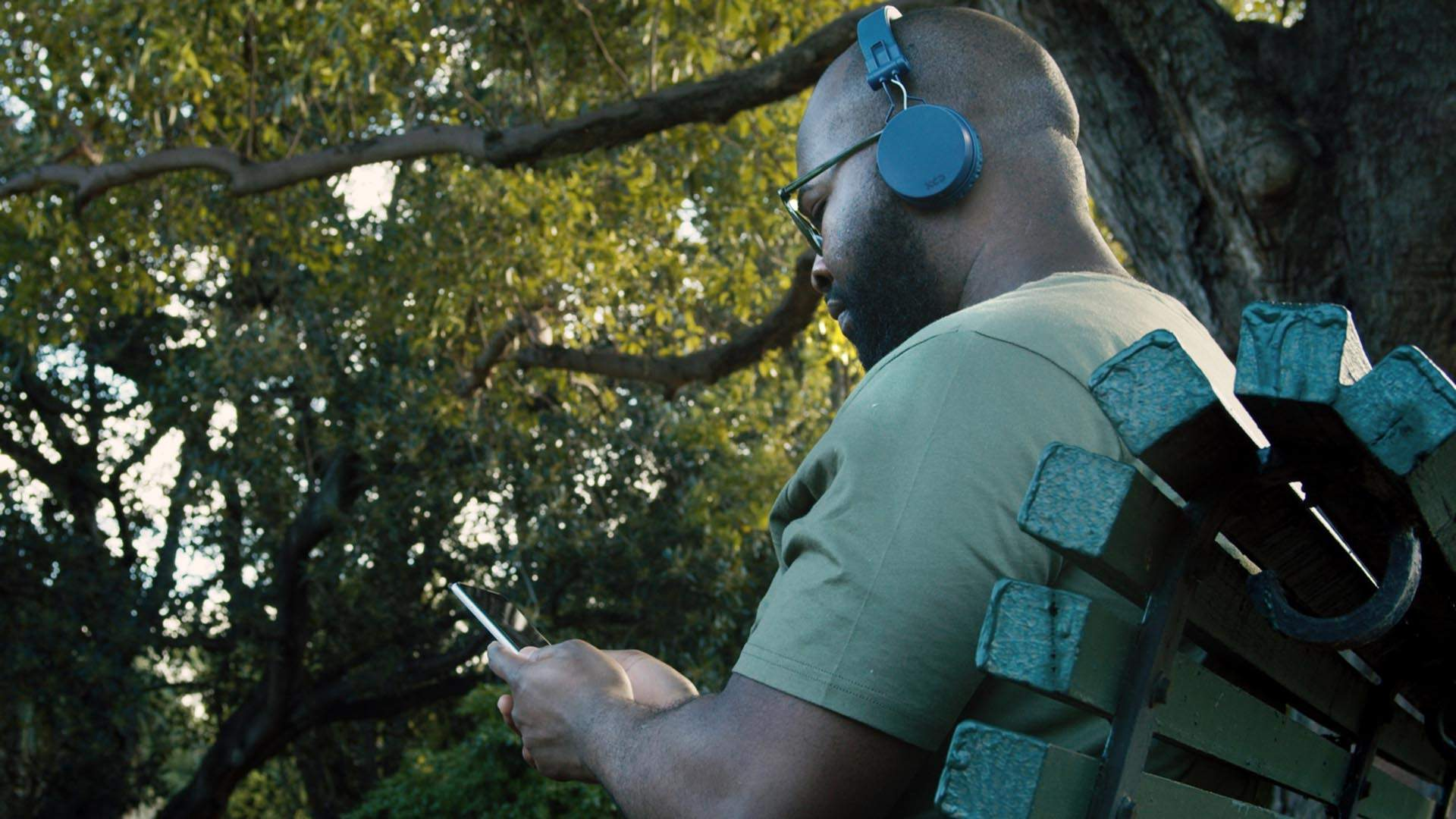 Darkfield's Next At-Home Audio Experience Will Get You Listening to a Creepy Story on a Park Bench