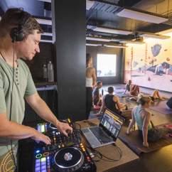 Live DJ Yoga: Vinyl Vinyasa