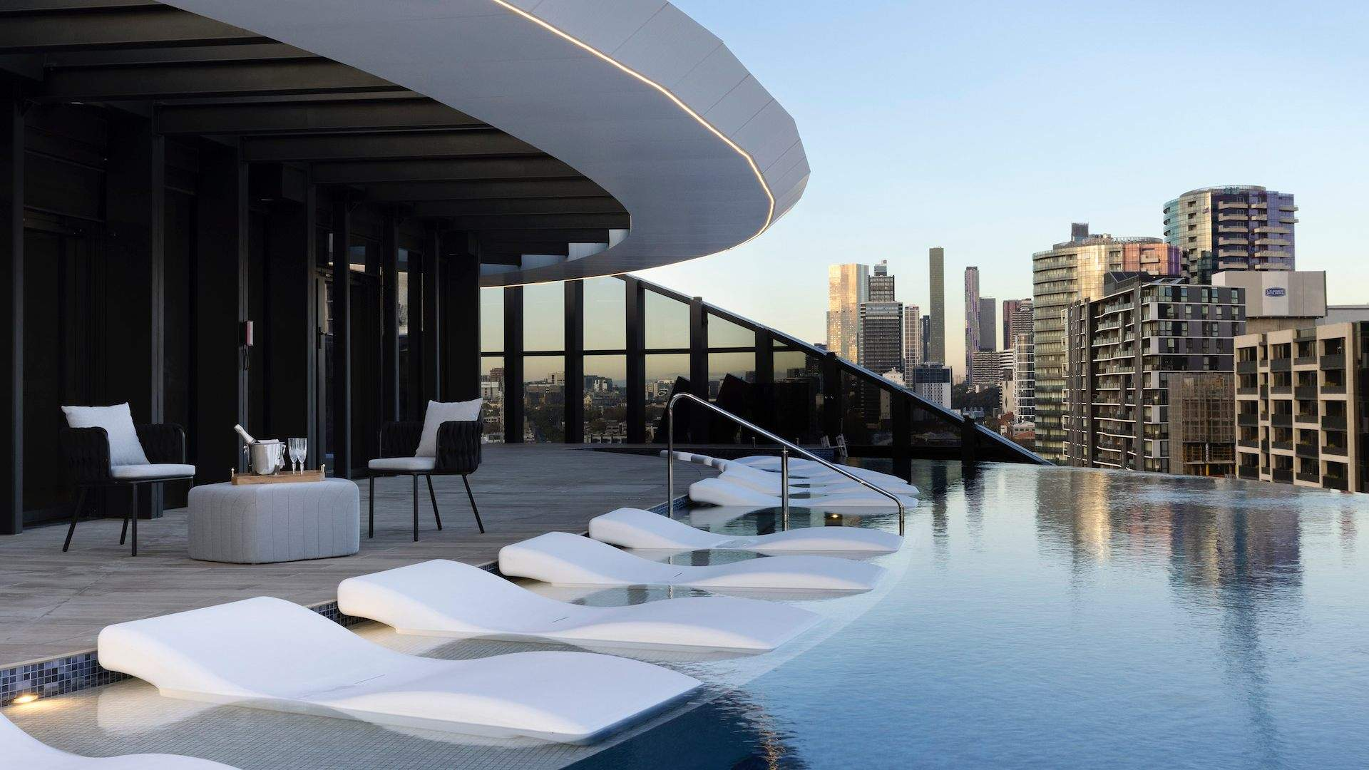 Melbourne's New Marriott Hotel Opens This Month with a Rooftop Bar and Heated Infinity Pool