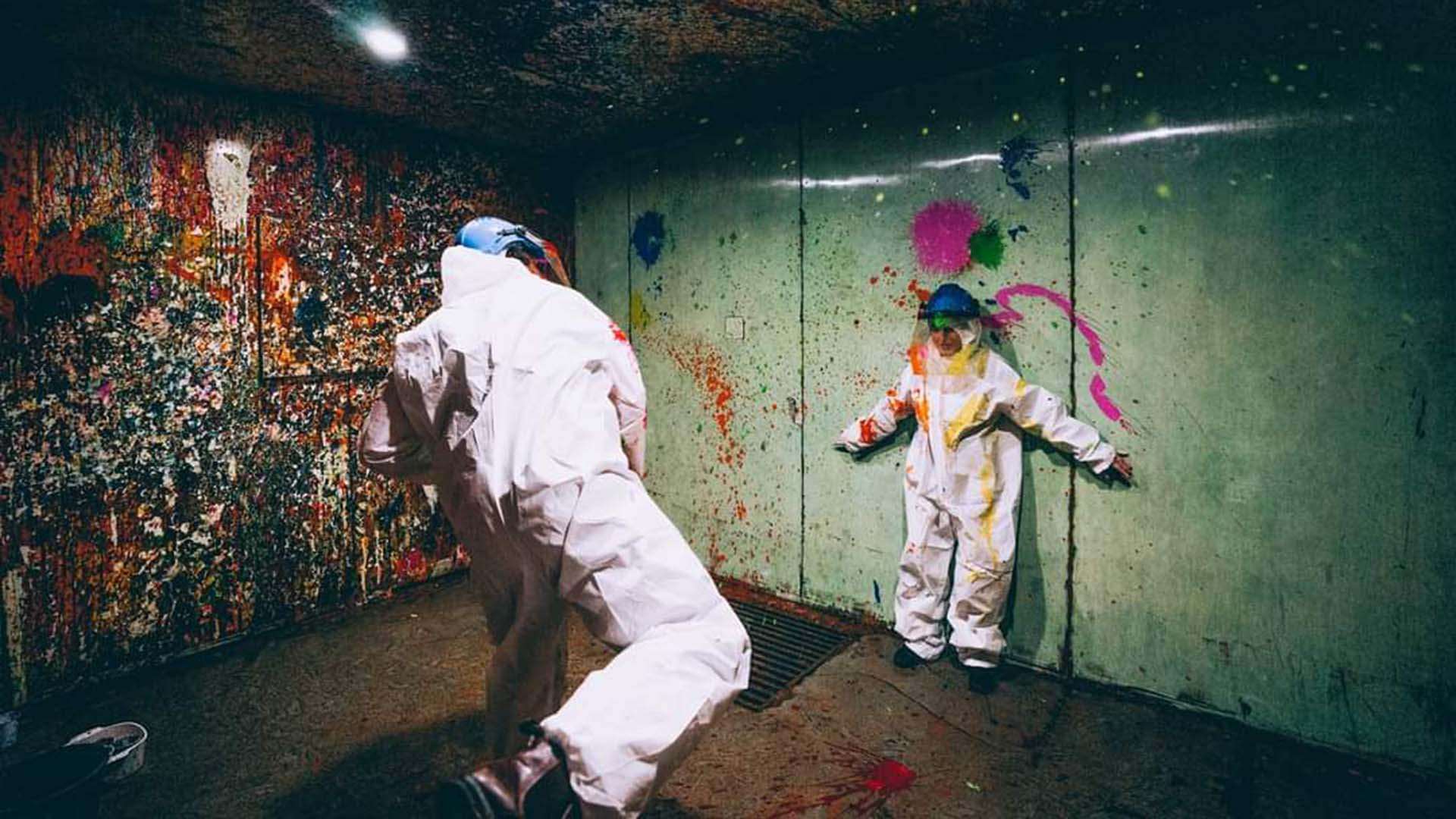 Smash Splash Is Sydney's New Warehouse Where You Can Hurl Paint at Walls