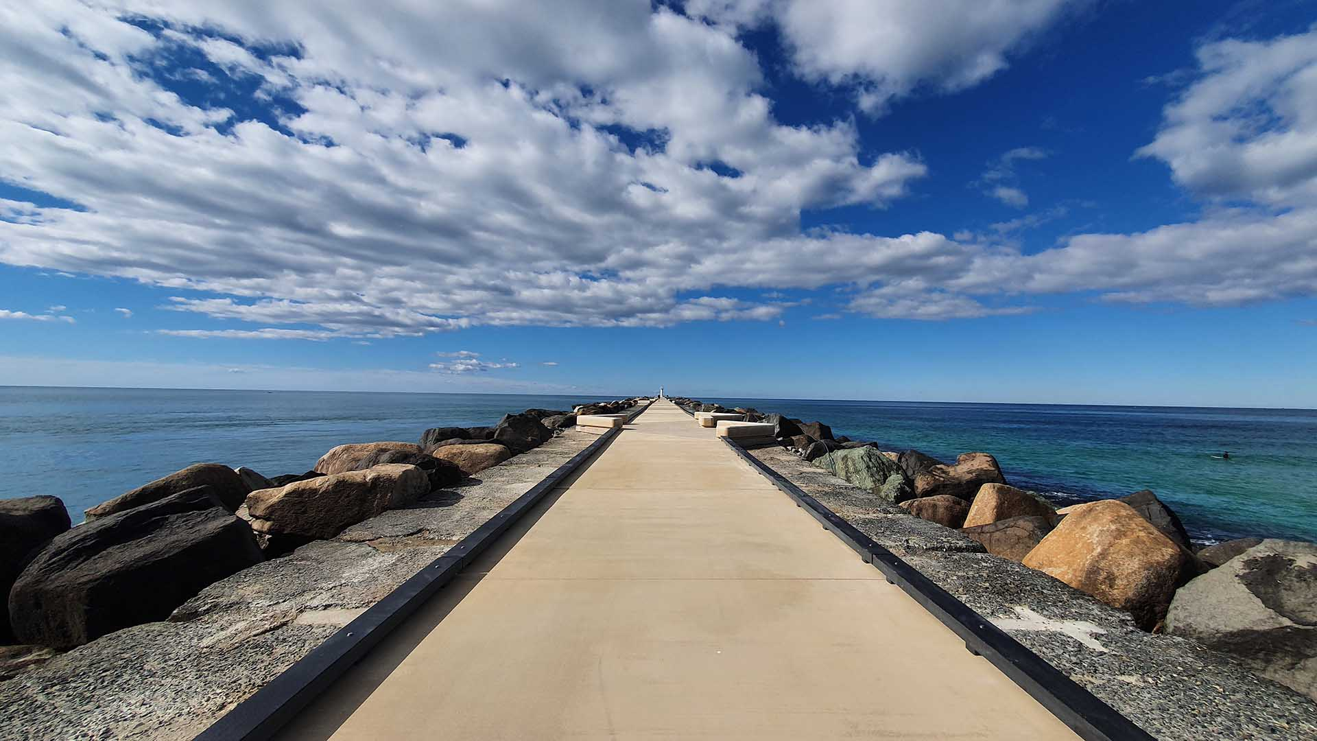 You Can Now Take a Scenic Stroll Along the Gold Coast's New 700-Metre-Long Seaway Promenade