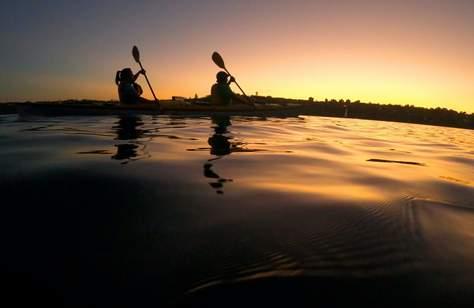 'Moonlight' Sea Kayaking
