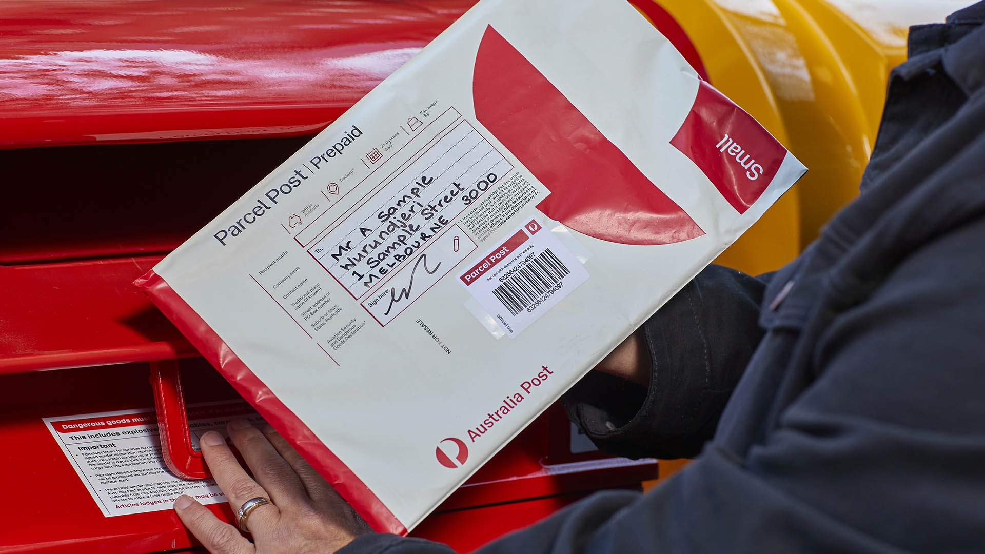 Australia Post Has Revamped Its Parcel Packaging to Include Traditional First Nations Place Names