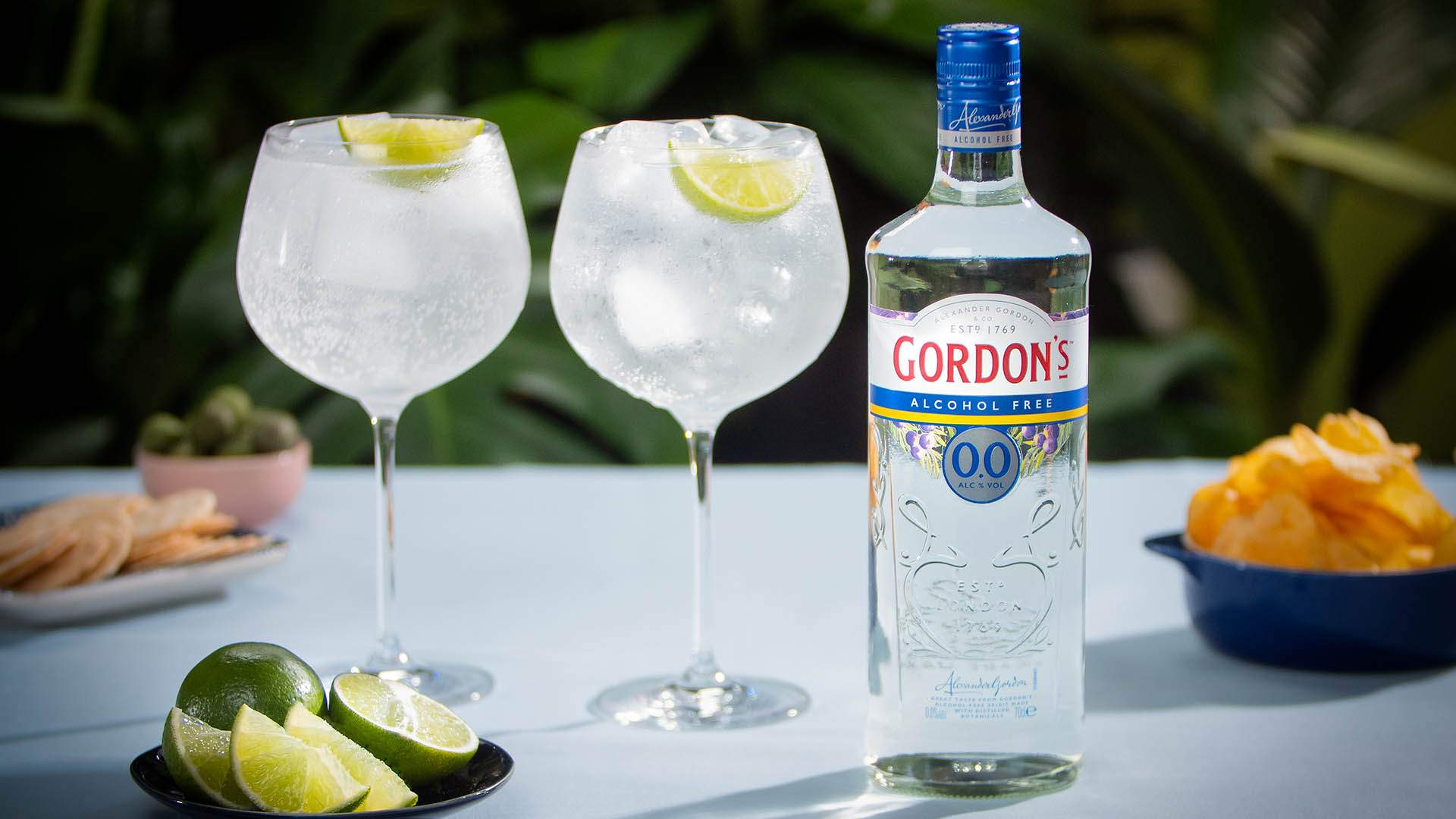 Gordon's Has Released Its Own Alcohol-Free Gin So You Can Sip G&Ts Without the Next-Day Headache