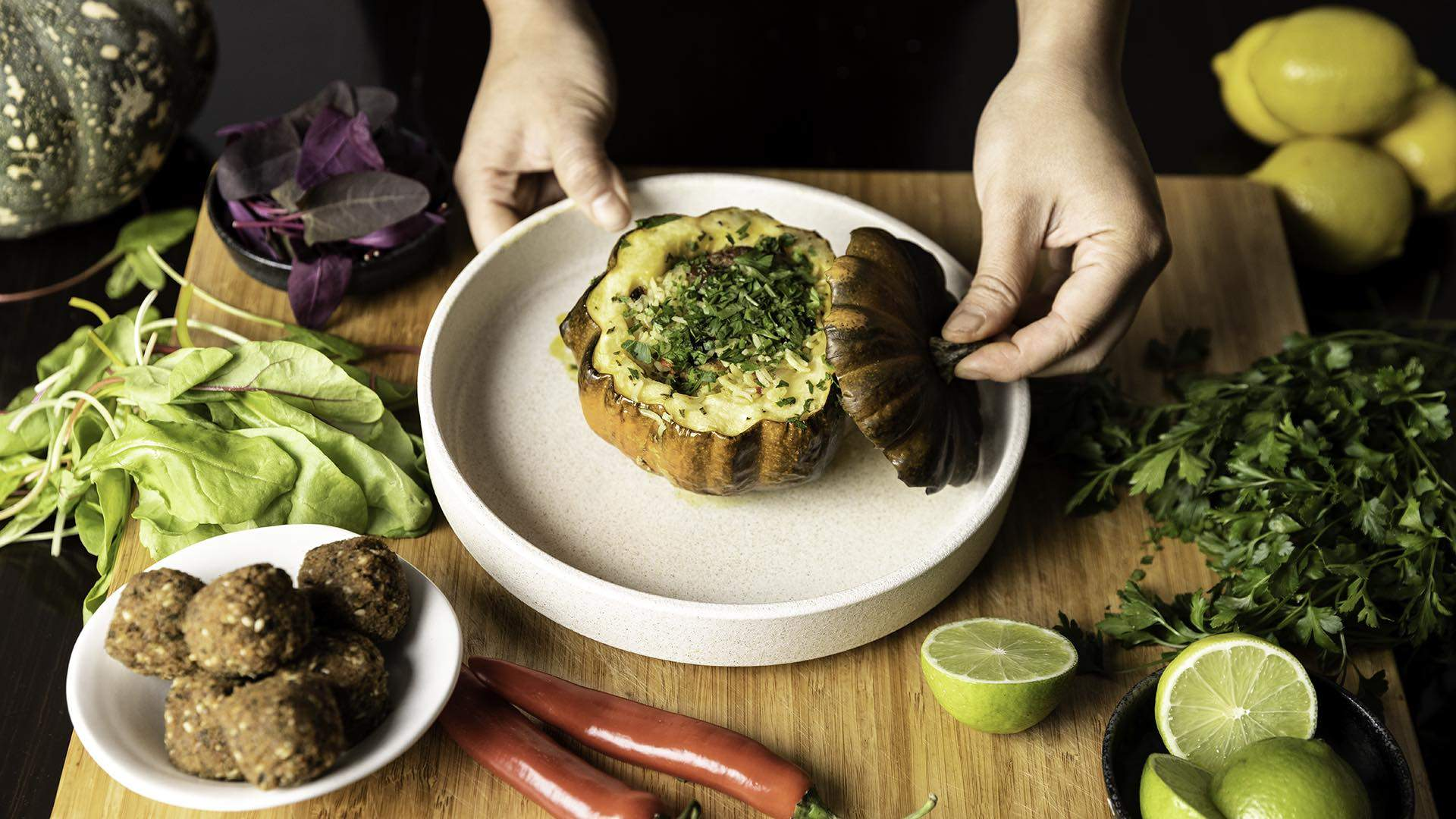 Bite-Sized: Three Easy, Meat-Free Dishes with Dot Lee of Hartsyard