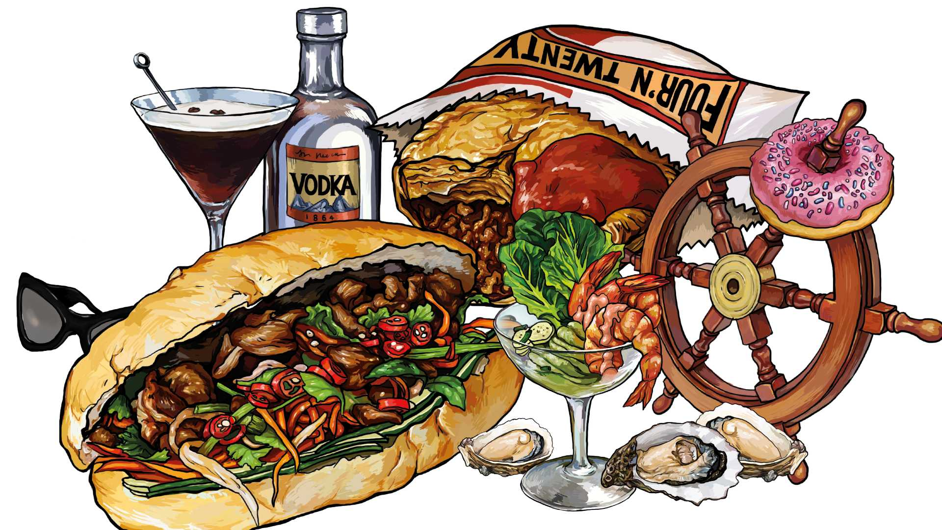 Seven Highly Entertaining Stories Behind Some of Australia's Most Loved Dishes and Drinks