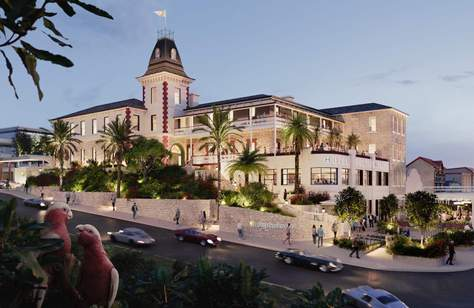 The Latest Plan for Sorrento's Continental Hotel Includes a Sunset Roof and Dining Led by Scott Pickett