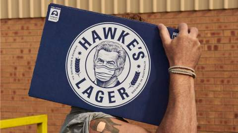 Hawke's Brewing Co Is Giving Free Slabs of Beer to Folks Who've Just Been Vaccinated