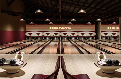 The Keys Is a New All-In-One Beer Garden, Arcade and Bowling Alley Opening This Summer