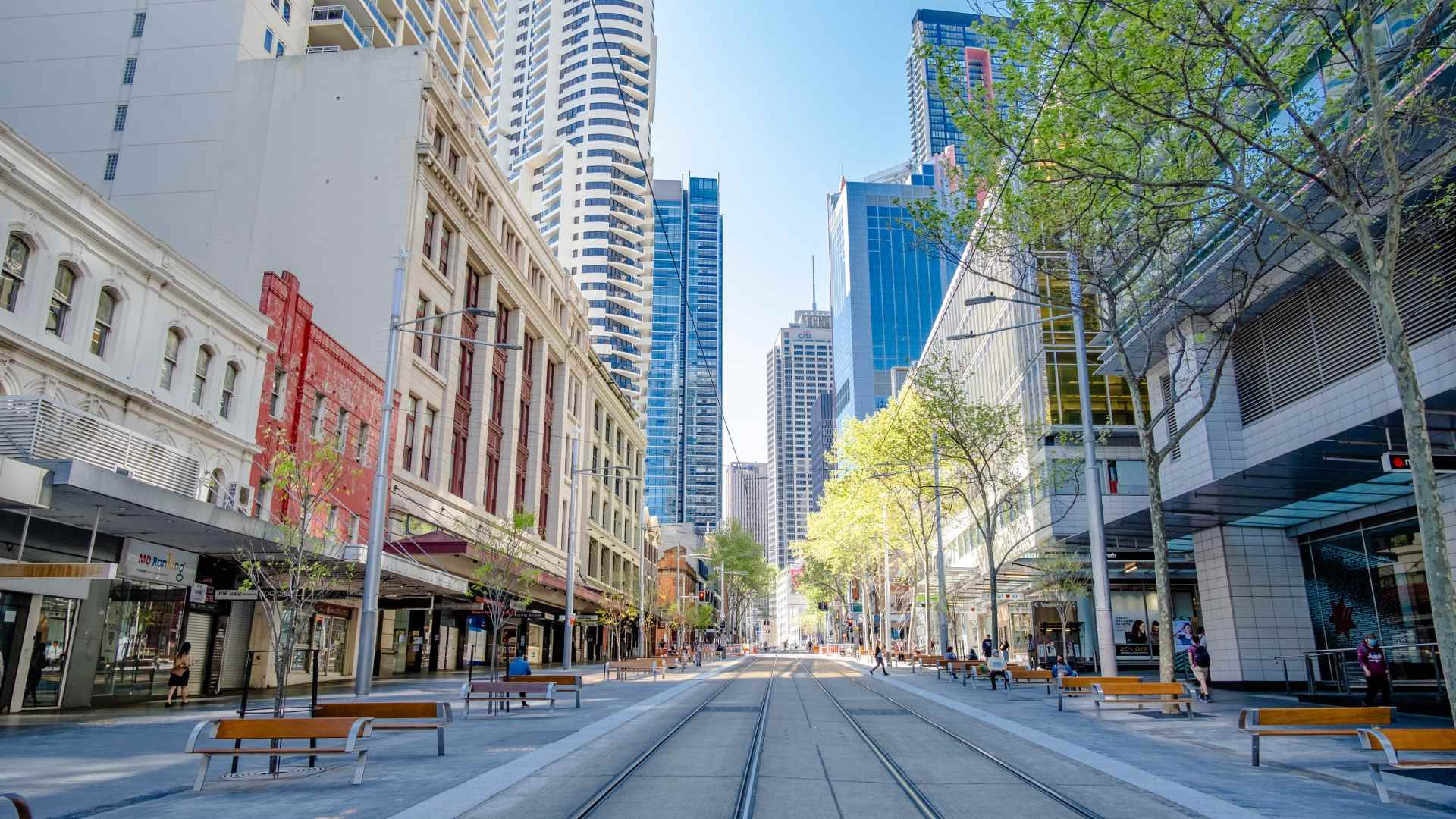 The First Section of George Street's New Pedestrian and Outdoor Dining Precinct Has Been Unveiled