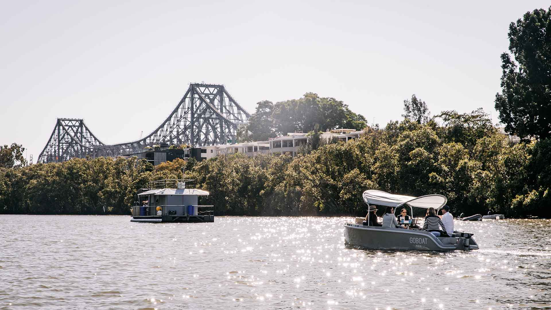 Brisbane's Pet-Friendly BYO Picnic Boats Have Started Sailing From Breakfast Creek