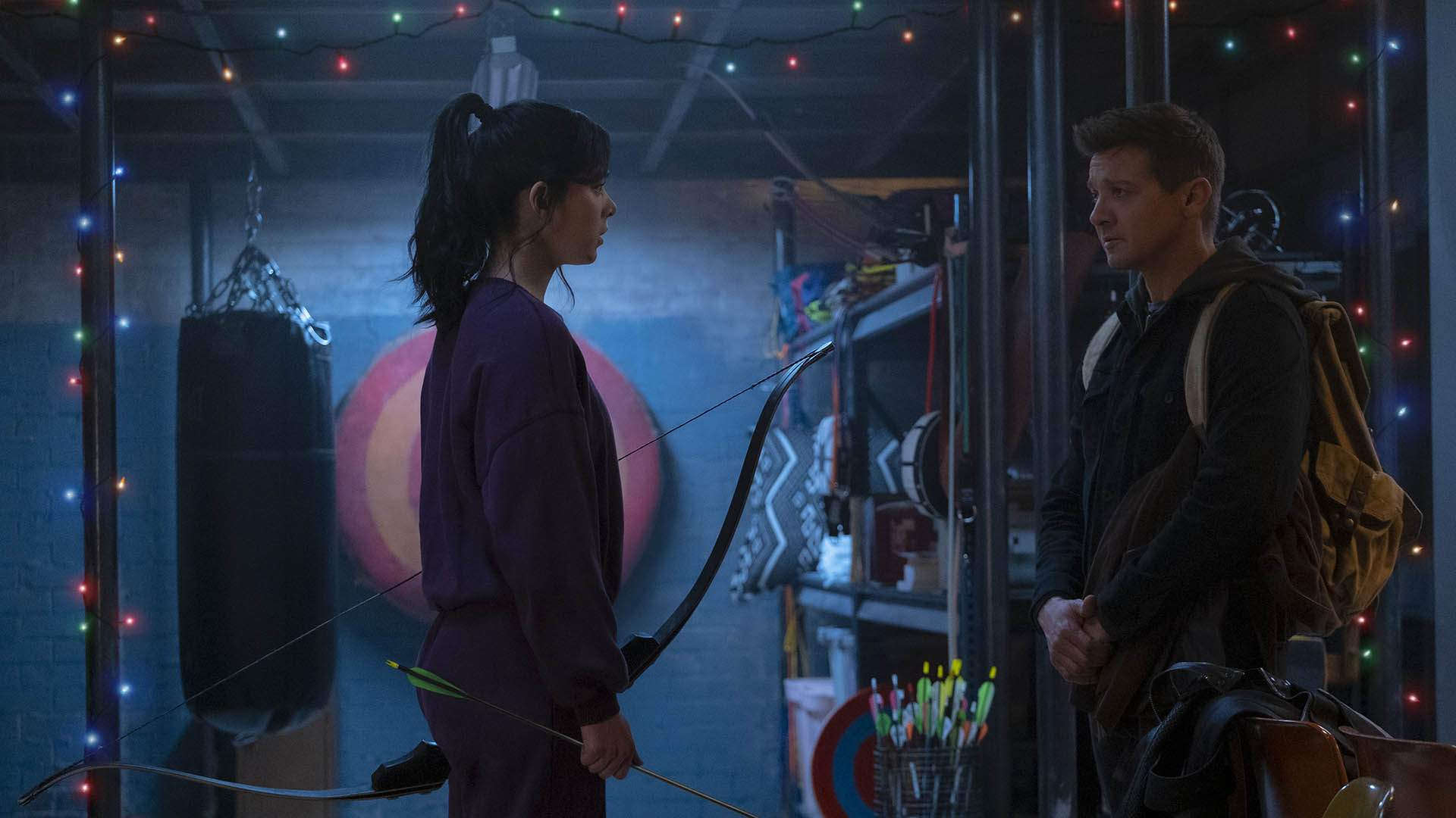 The First Trailer for Marvel's New 'Hawkeye' Series Combines Superheroes and Christmas Hijinks