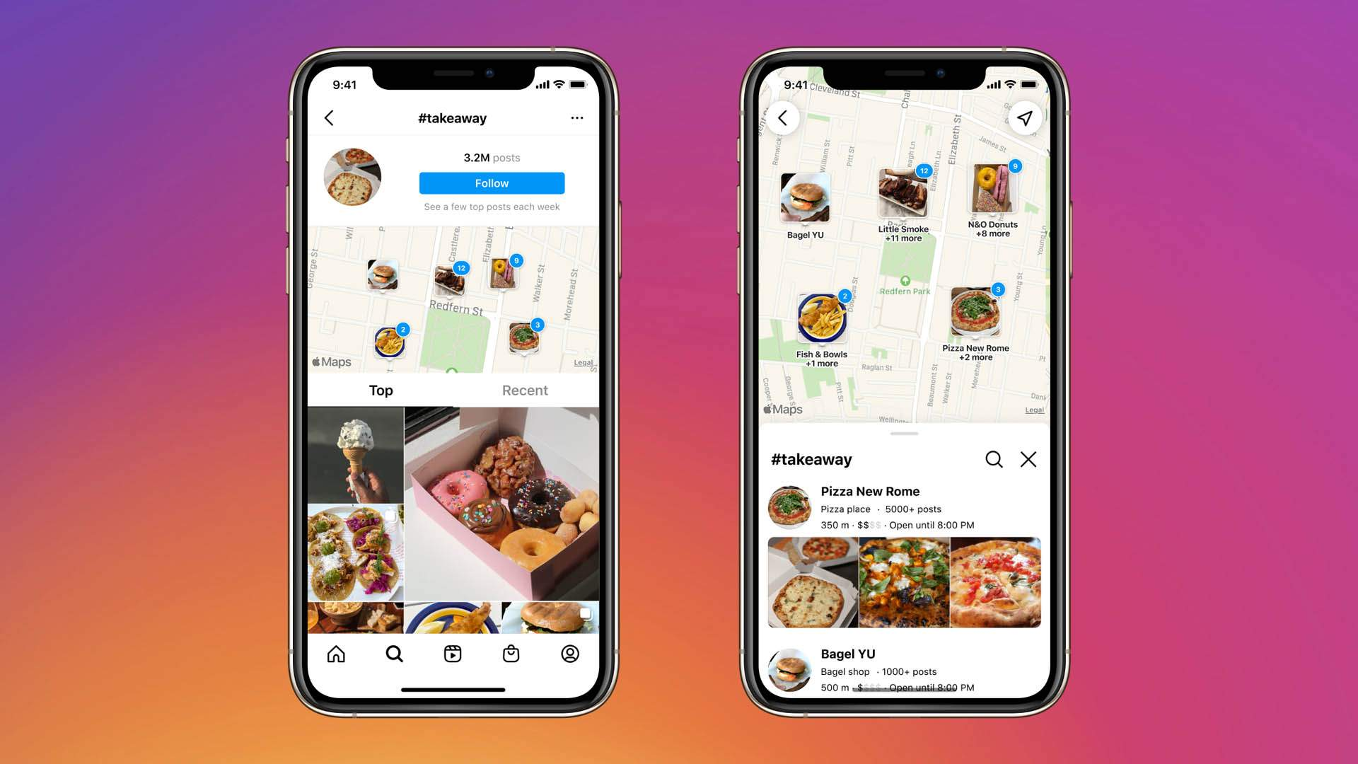 Instagram's New Map Search Feature Helps You Find Nearby Restaurants, Bars and Small Businesses