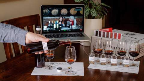 Muscat Master Blender with Pfeiffer Wines