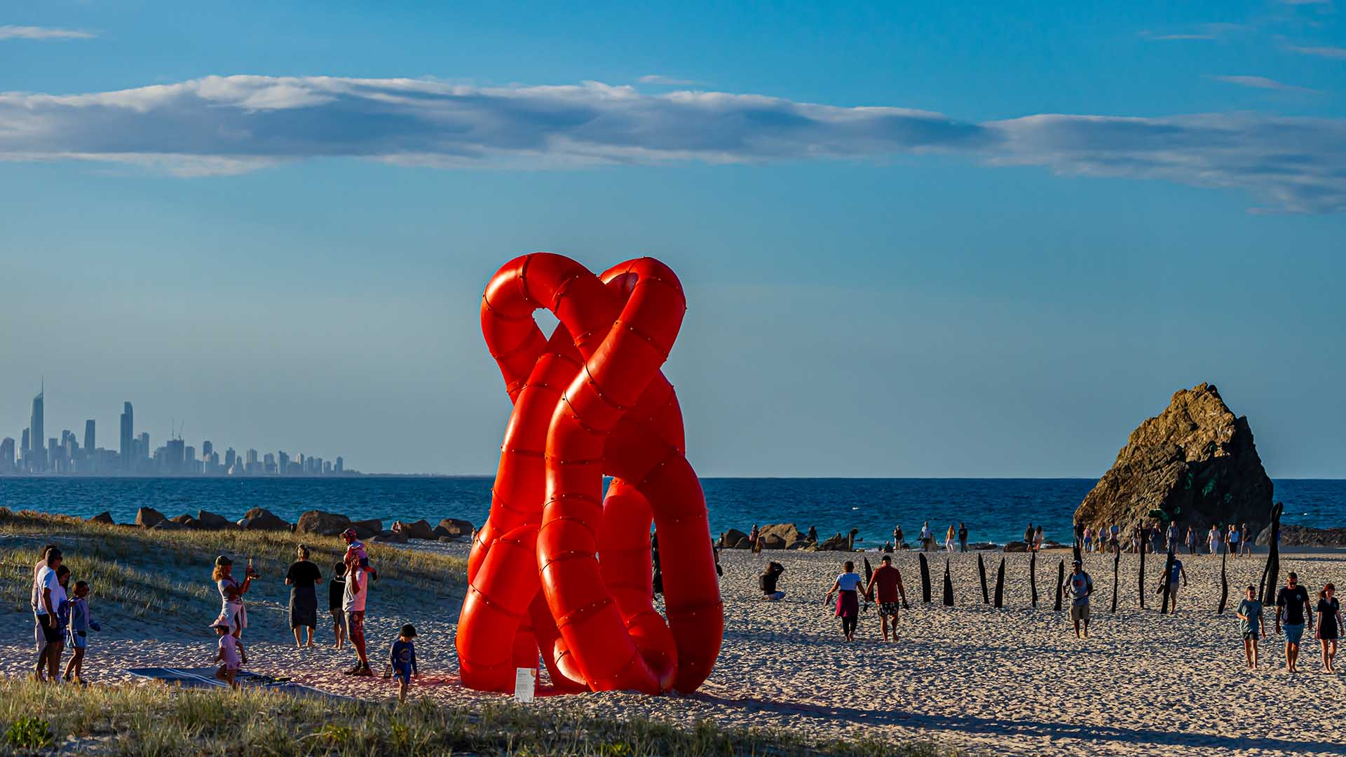 Swell Sculpture Festival Is Turning a One-Kilometre Stretch of Beach Into a Free Outdoor Art Gallery