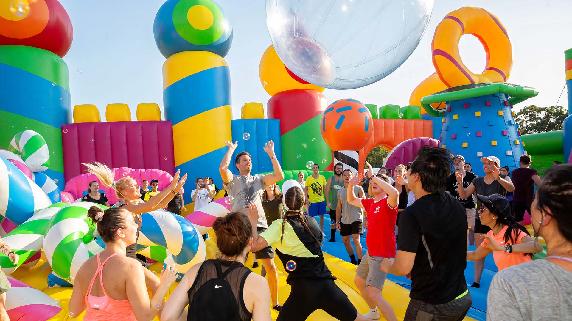 The World's Largest Inflatable Theme Park for Adults Is Coming Back to Brisbane