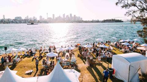 Wine Island Is Bringing Its Three-Day Vino-Tasting Party Back to Sydney Harbour in 2022