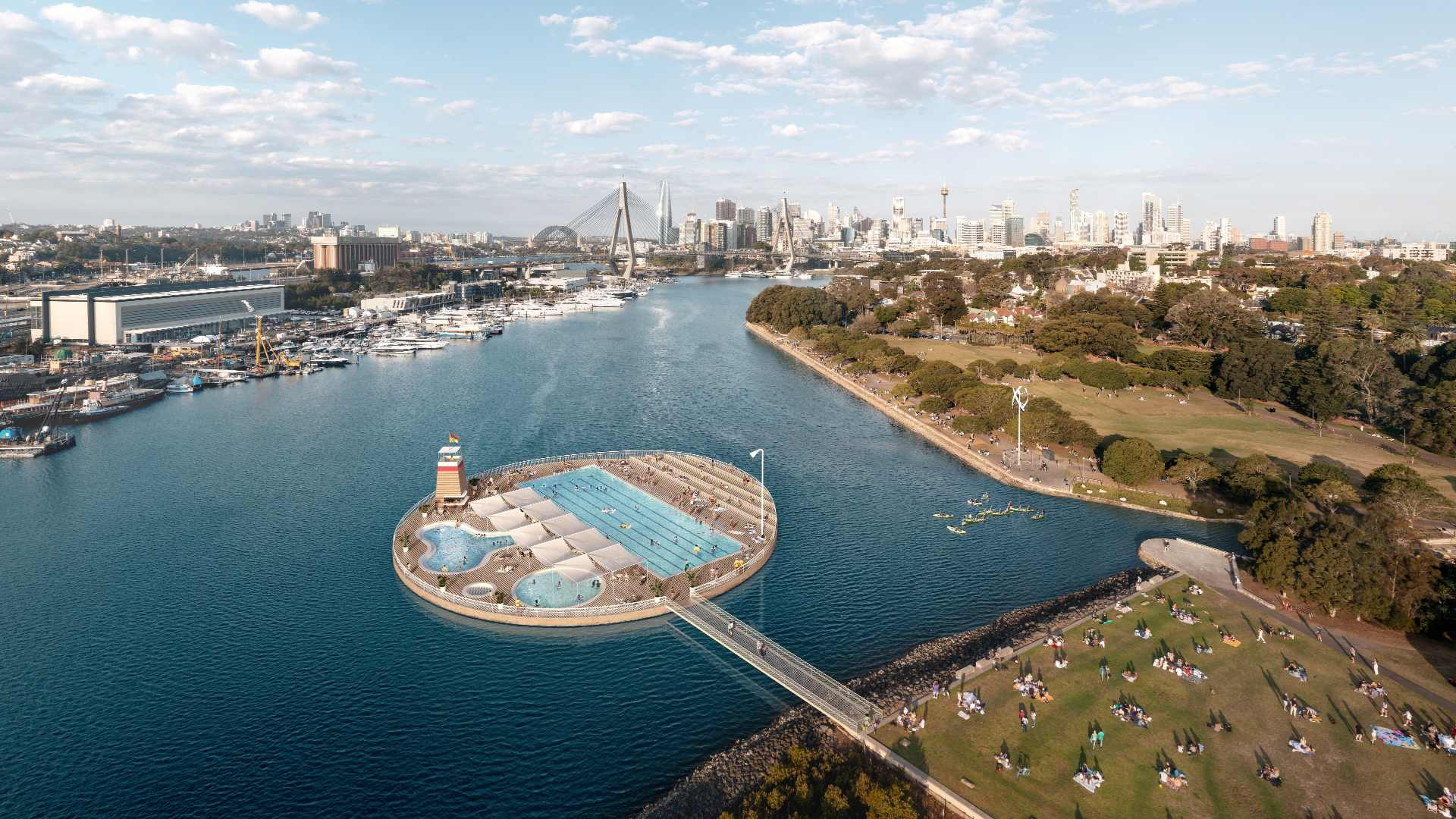 The City of Sydney Is Pushing to Make Sydney Harbour Swimmable with Ocean Pools and Improved Water Quality